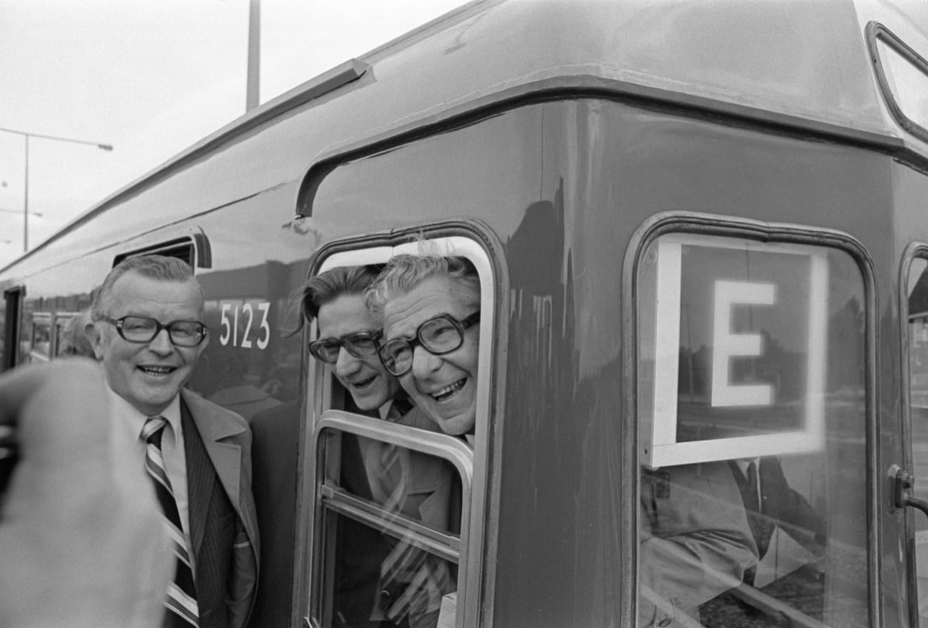 Op 9 Februari 1968 50 Jaar Geleden Reed De Eerste Metro Tussen